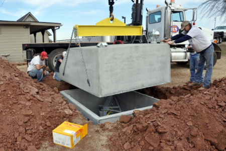 Outdoor Concrete Storm Shelters